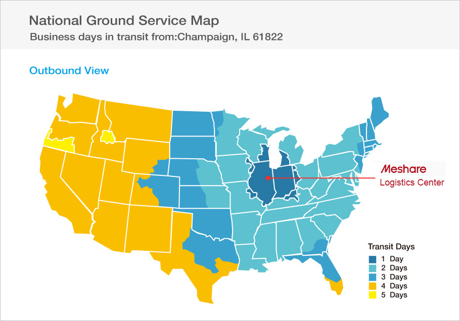National Ground Service Map